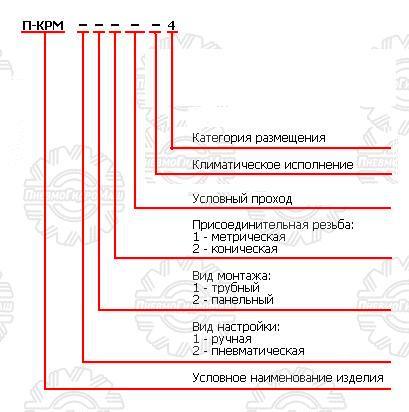 П-КРМ, пневмоклапаны редукционные.